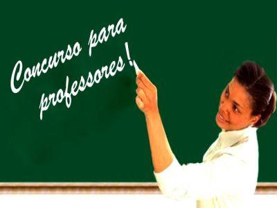 concurso nacional para professor acontecer em 2013